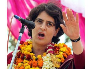 Priyanka Gandhi steps into Sonia's shoes
