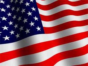 US Wave Flag