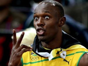 Usain Bolt wants to for Manchester United