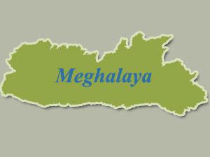 Meghalaya-Map