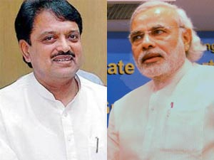 Vilasrao Deshmukh and Narendra Modi