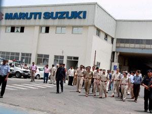 Maruti Suzuki plant