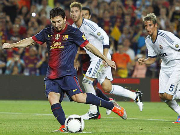 Barca beat Madrid 3-2 in first-leg