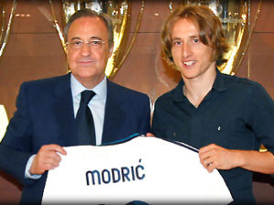 Modric completes £33m move to Madrid