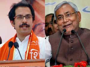 Nitish mocks Uddhav, dares Shiv Sena