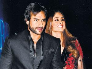 Saif Ali Khan with Kareena