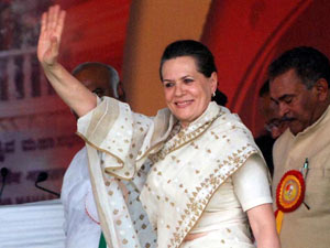 Sonia back home after medical check up