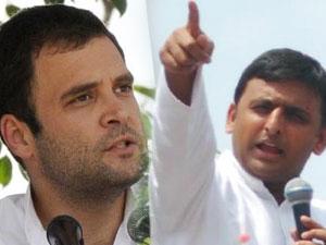 Rahul Gandhi and Akhilesh Yadav