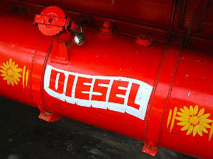 Diesel price hiked by Rs 5.62/ltr