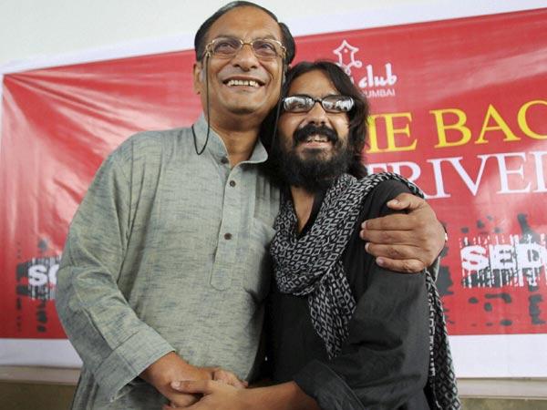 Aseem trivedi and Binayak Sen
