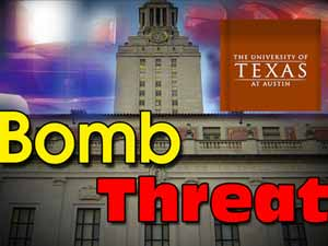 Bomb scare at two US universities