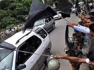 Diesel price hike: Protest in Jammu