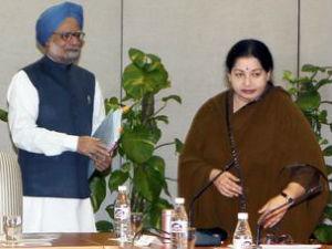 Manmohan Singh, Jayalalitha