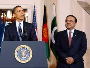 Barack Obama with Zardari