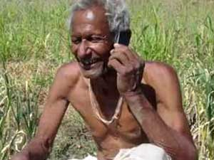 mobile phone old man