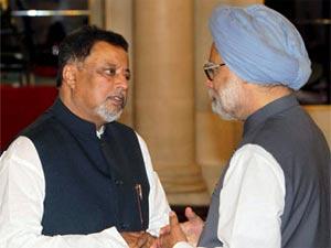 Mukul Roya and Manmohan Singh