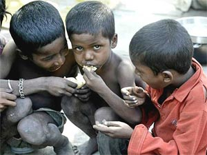 poor children india