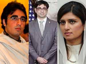 Bilawal, Gulzar and Hina