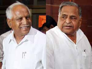 BSY and Mulayam