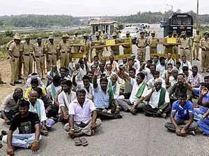 Cauvery-Protest