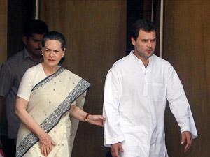Sonia with Rahul