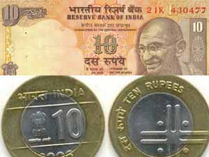 Ten-Rupee-Note-Coins