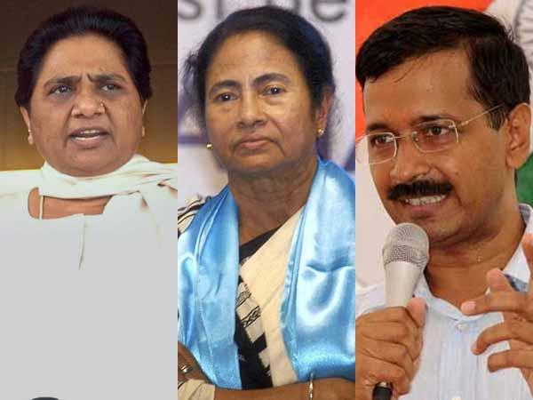 Mayawati-Mamata-Kejriwal