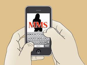 Send obscene MMS