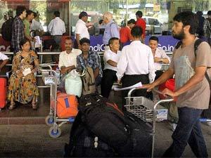 air india strike passengers