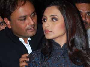 Raja Mukherjee with Rani