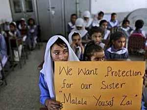 malala protection poster