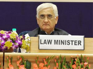 Salman Khurshid Law Min
