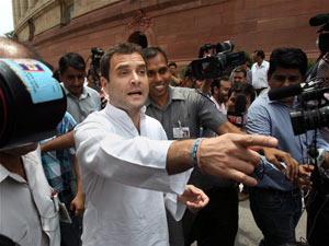 Rahul Gandhi press camera
