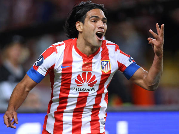 'Falcao is best No.9 in the world'