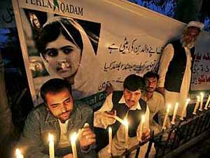 Malala Light Candles