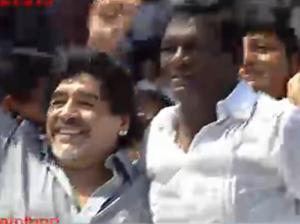 Maradona celebrates 52nd b-day in Kerala