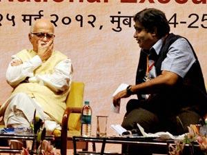 LK Advani Nitin Gadkari
