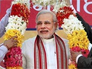 Narendra Modi honoured