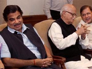 Nitin Gadkari Advani