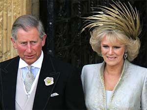 Prince Charles with wife Camilia