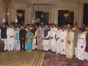 UPA cabinet reshuffle