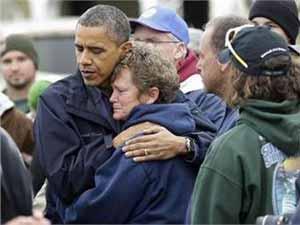 Barack Obama Sandy