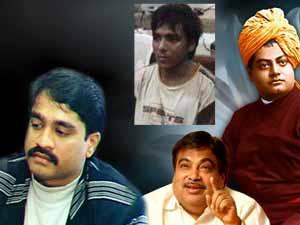 Vivekananda, Dawood, Gadkari and Kasab