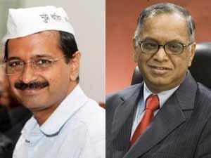 Murthy says no to Kejriwal
