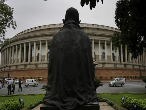Gandhi-statue-parliament