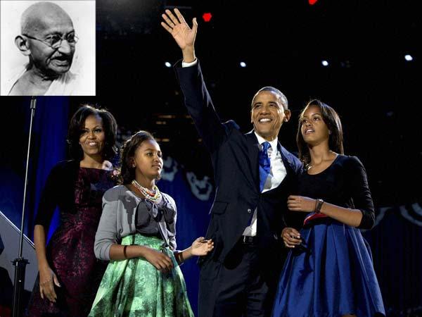 Obama-Gandhi