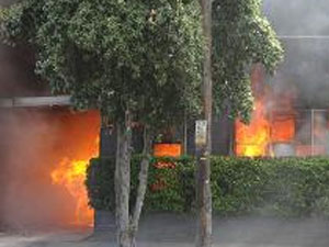 Fire In Bangalore