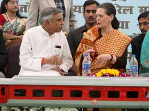 Sonia Gandhi and Pawan Kumar Bansal