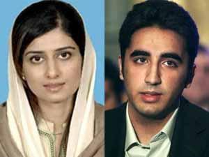 Hina Khar Bilawal Bhutto