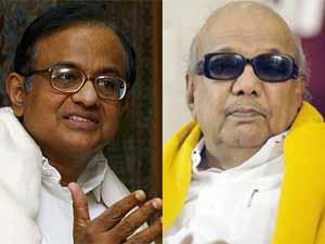 P Chidambaram and M Karunanidhi